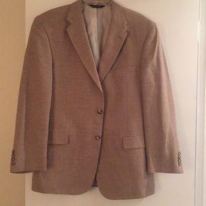 Jos A Bank 43 Reg Tan Sport Coat